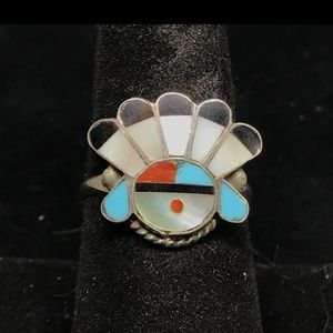 Native American Sunface ring